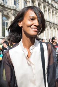 Liya Kebede pfw 2016 pfwss17, giorgia corti, paris fashionweeks printemps ete