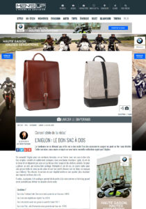 Pubblicazione Men's UP per L'Aiglon 750 000 audience Sac homme en cuir Maroquinerie Stillife Packshot Editorial